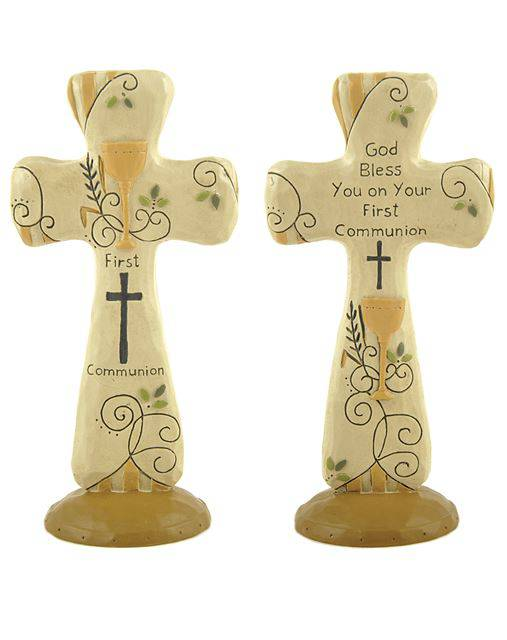 Assorted Standing Crosses first communion cross, standing cross, holy eucharist cross, table cross, home decor, first  communion gift,141-88188