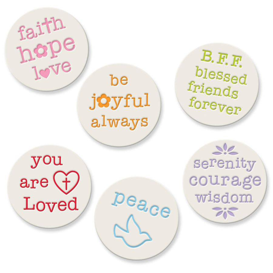"Assorted %27Pick Me Ups%27 Pocket Tokens Asst Pick Me Ups Pocket Tokens 1.25"" Diameter , pocket tokens, inspirational pocket token, pocket charm, pocket reminder, pocket keepsake"