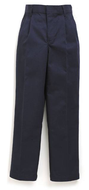 Girls %27Becky Thatcher%27 Elastic Back Pleated Pants Navy uniform pants, girls pants, pleated front, navy, school pants, navy blue, 4019LG, 4019GR, 4019GS, 4019 GH