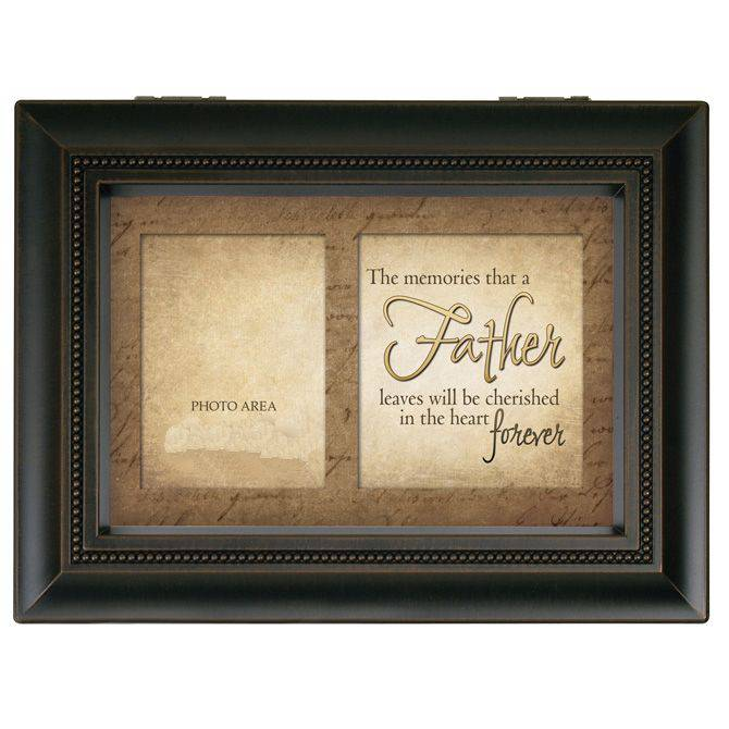 "Bereavement Large Music Box ""Father Memories"""