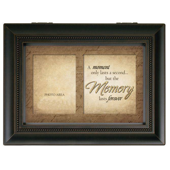 "Bereavement Large Music Box ""Moment Memories"""