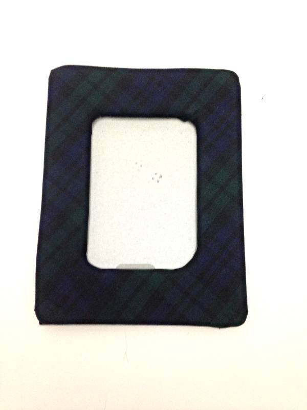 Blackwatch Plaid Picture Frame