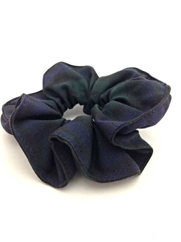 Blackwatch Plaid Scrunchie