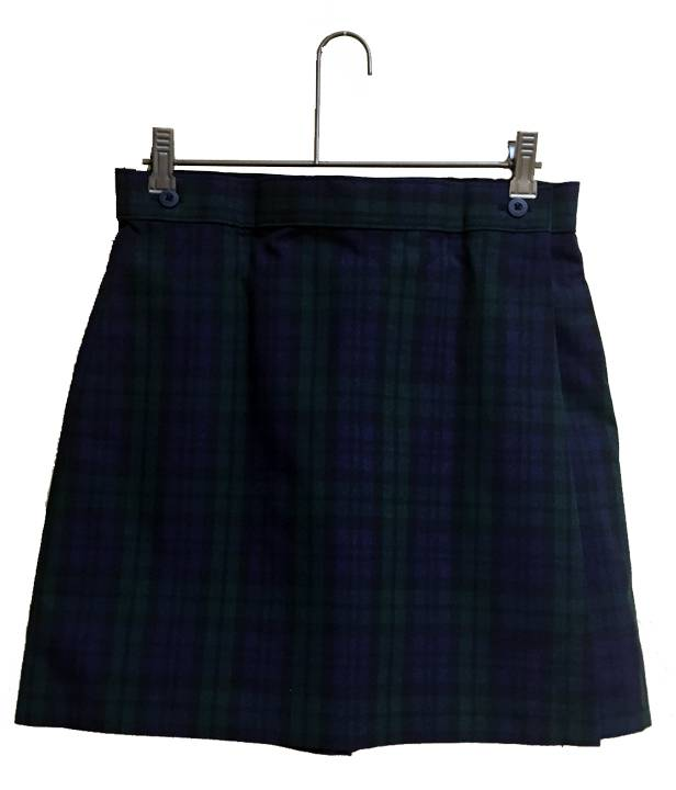 Blackwatch Poly Wrap Front Skort SJM,