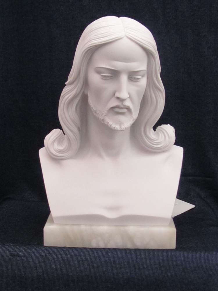 Bust of Christ Statue bust of chirst statue, jesus staue, head of christ statue, marble statue, italian made statue, 00022.30
