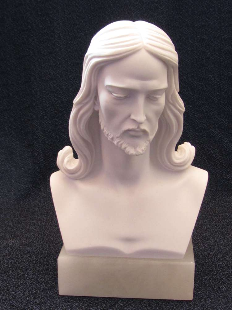 Bust of Christ Statue bust of chirst statue, jesus staue, head of christ statue, marble statue, italian made statue, 00022.20