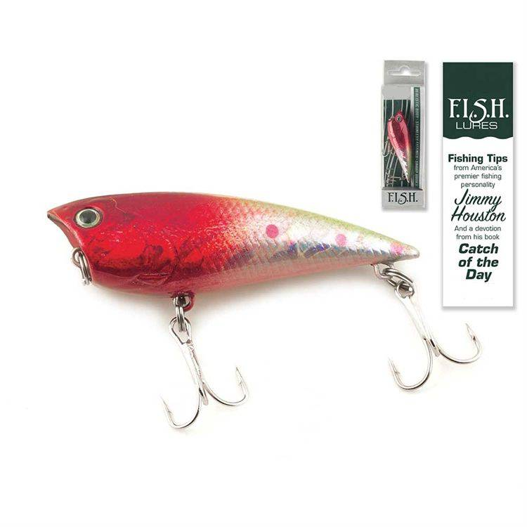 Catch of the Day Lure-Popper Chrome N%27 Craw fish lure, fisherman gift, hunter gift, specialty gift, devotion gift, catch of the day find invite share help, camping trip, fl-2