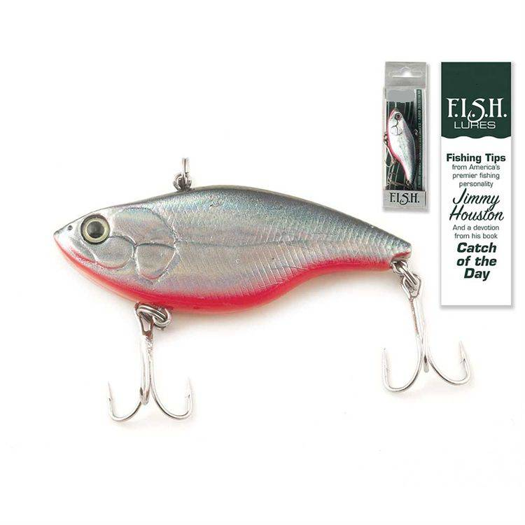Catch of the Day Lure-Sinking Diver Silver Shad fish lure, fisherman gift, hunter gift, specialty gift, devotion gift, catch of the day find invite share help, camping trip, fl-9