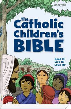 Catholic Children%27s Bible childrens bible, catholic bible, sacramental gift, boy gift, girl gift, youth bible, 978-1-59982-177-1