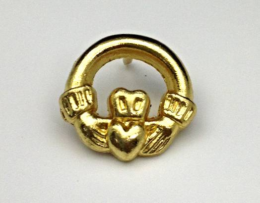 Claddagh Lapel Pin