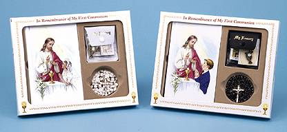 Classic Missal Gift Sets first communion gift, first communion missal, first communion rosary, first communion lapel pin, first communion scapular, girl gift, boy gift,  white rosary, black rosary,precious momemts missal set