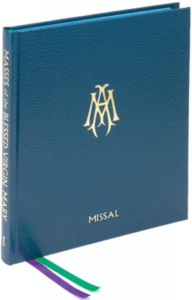 Collection of Masses of B.V.M. VOL. 1 Missal missal, annual, church liturgy, 26/22, blessed virgin mary
