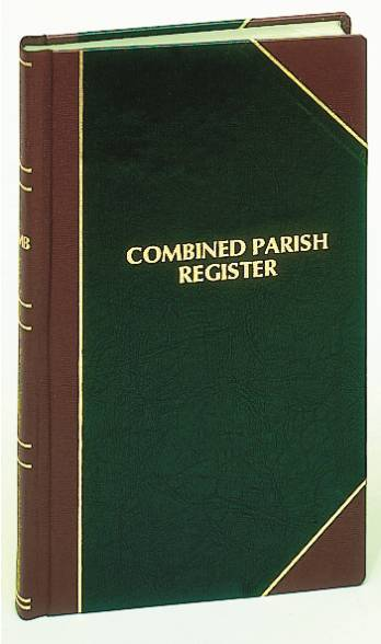 Combined Register church goods, register books, marriage, baptism, communion, confirmation,