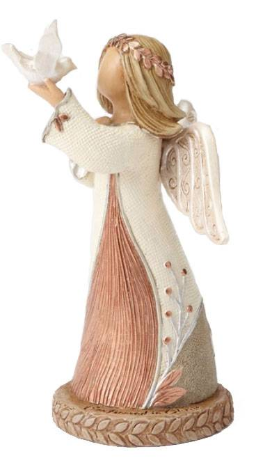 Confirmation Angel Figurine confirmation statue, angel with dove statue, angel statue, dove statue, angel with dove, angel holding dove, confirmation angel, confirmation angel statue