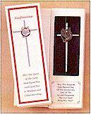 Confirmation Wall Cross confirmation cross, confirmation gift, wall cross, pewter cross,  holy spirit,