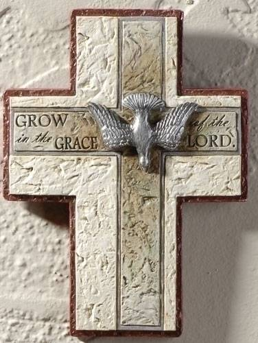 Confirmation Wall Cross wall cross, wall crucifix, confirmation cross, holy spirit cross, confirmation gift, sacrametnal gift, RCIA gift.