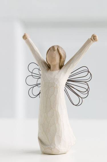 Courage Willow Tree Angel Figurine
