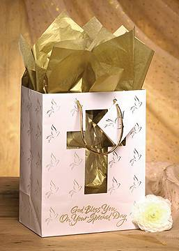 Cross Gift Bag gift bag, gift wrap, first communion gift bag, confirmation gift bag, reconciliation gift bag,  baptism gift bag, christening gift bag, special day gift bag, sacramental gift bag