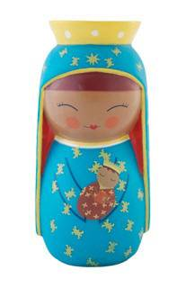 Czestochowa/Poland Vinyl Doll shining light dolls, catholic charities, vinyl doll, poland doll, sacramental gift, first communion gift, J-0102