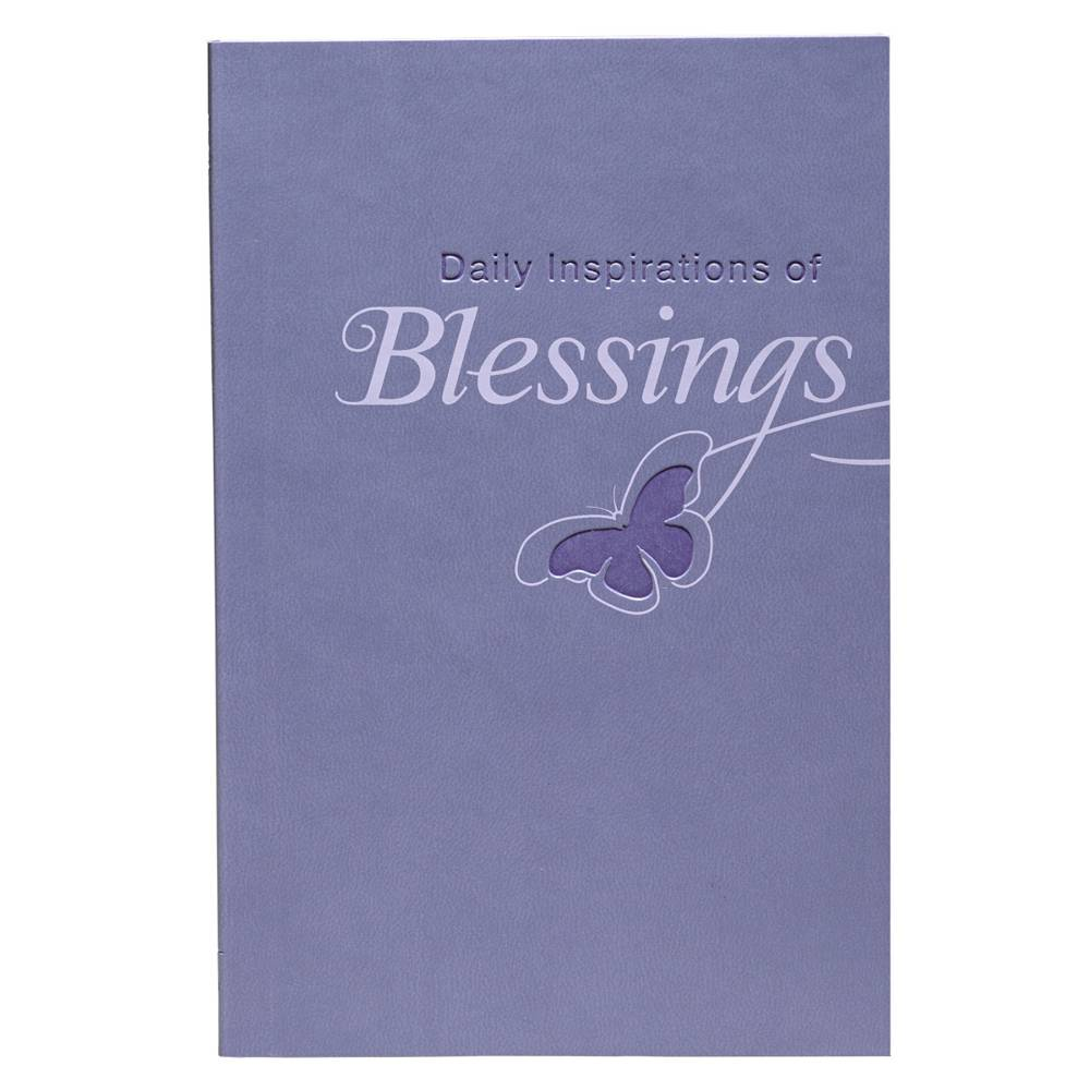 Daily Inspirations of Blessings book, prayer book, religious book, sacramental gift, lit041,
