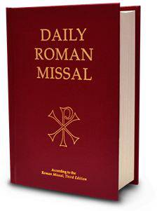 Daily Roman Missal missal, annual, church liturgy, 978-1-936045-57-0