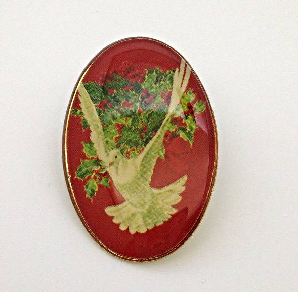 Dove Lapel Pin *WHILE THEY LAST* Lapel pin, shirt pin, seasonal pin, dove pin, christmas, stocking stuffer, retreat, 72059