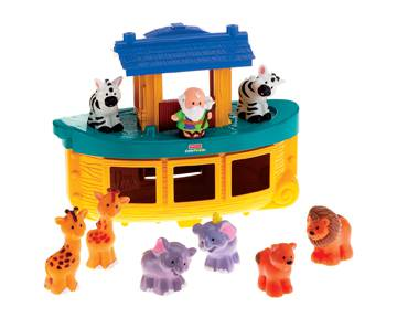 Fisher Price Little People Noah%27s Ark Set childrens toy, little people, childrens gift, noah ark toy, fisher price, christmas gift, child christmas gift, k0475