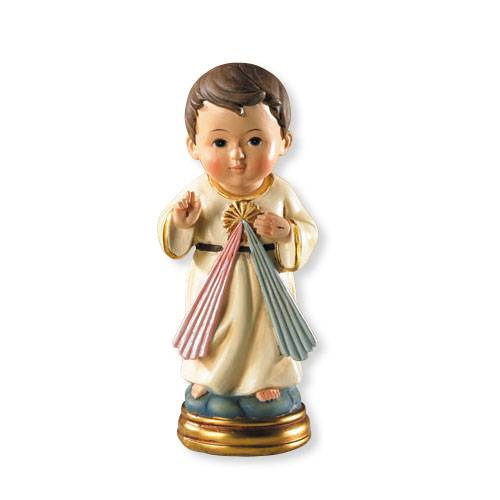 "For Goodness Saints-Divine Mercy Statue jesus statue, divine mercy statue, home decor, church decor, 5"", colored statue, VC501"