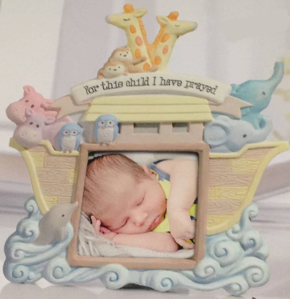 For This Child I Have Prayed Frame frame, baby frame, shower gift, new baby gift, picture frame gift, baptism gift, christening gift, baby boy theme, baby gift, animals, 470948
