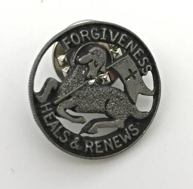 Forgiveness Lamb Lapel Pin lamb, pin, lapel pin, reconciliation pin, heal pin, small pin , metal pin, sacramental pin, group giving, penence pin,