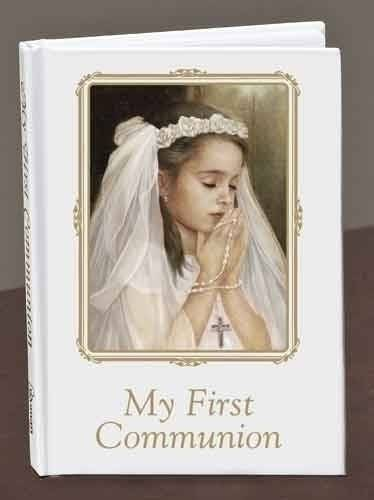 Girl's First Communion Prayer Book first commmunion prayer book, girl prayer book, first communion gift, girl gift, sacramental gift, 40009