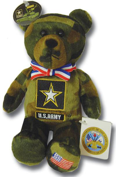 God Bless Our Army military gift, army gift, service gift, holy bear, army bear, plush bear, keepsake, solider bear, 27987