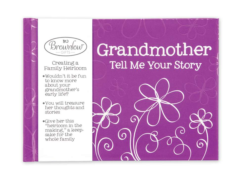 Grandmother Tell Me Your Story ht15, memory book, grandmother book, mothers day, 40077