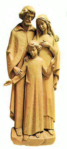 Holy Family 3/4 Wall Relief