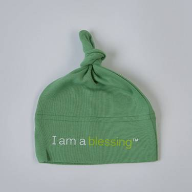 %27I am a blessing%27™Hat cmas15n, baby gear, hat, i am a blessing, green hat, st pats day, youth, girl, boy, baby gift, baby shower gift, baptism gift,