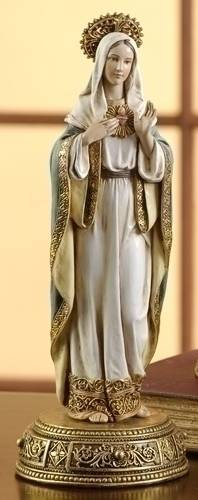 Immaculate Heart of Mary Statue immaculate heart of mary, mary statue, home decor, chapel decor, church decor, 61288