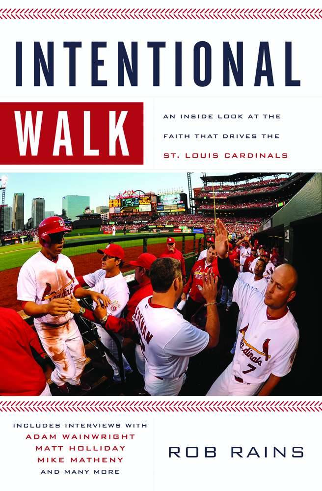 Intentional Walk book , faith book, inspirational book, stl cardinals, rob rains, gift, birthday gift, sacramental gift, christmas gift,