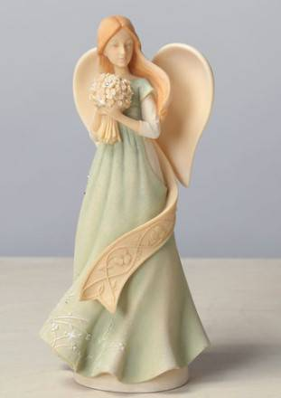 Irish Angel Figurine