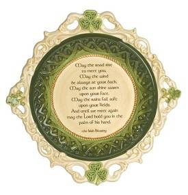 Irish Decorative Dish 461118,decrative dish, irish gift, ceramic dish, home decor, 46118