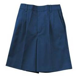 Boys %27K12%27 Pleated Shorts Navy boys shorts, school shorts, navy shorts, regular, slim, husky, uniform shorts, pleated shorts, school uniforms, 6540JR, 6540BR,6540BS