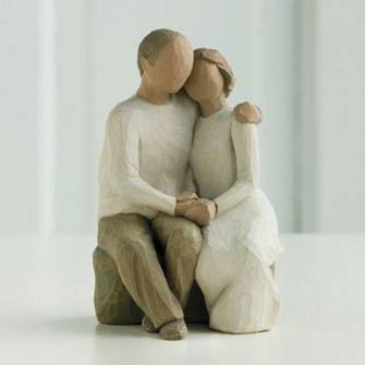%27Love Ever Endures%27 Figurine wedding gift, figuine, shower gift, cake topper, couple gift, anniversary gift,