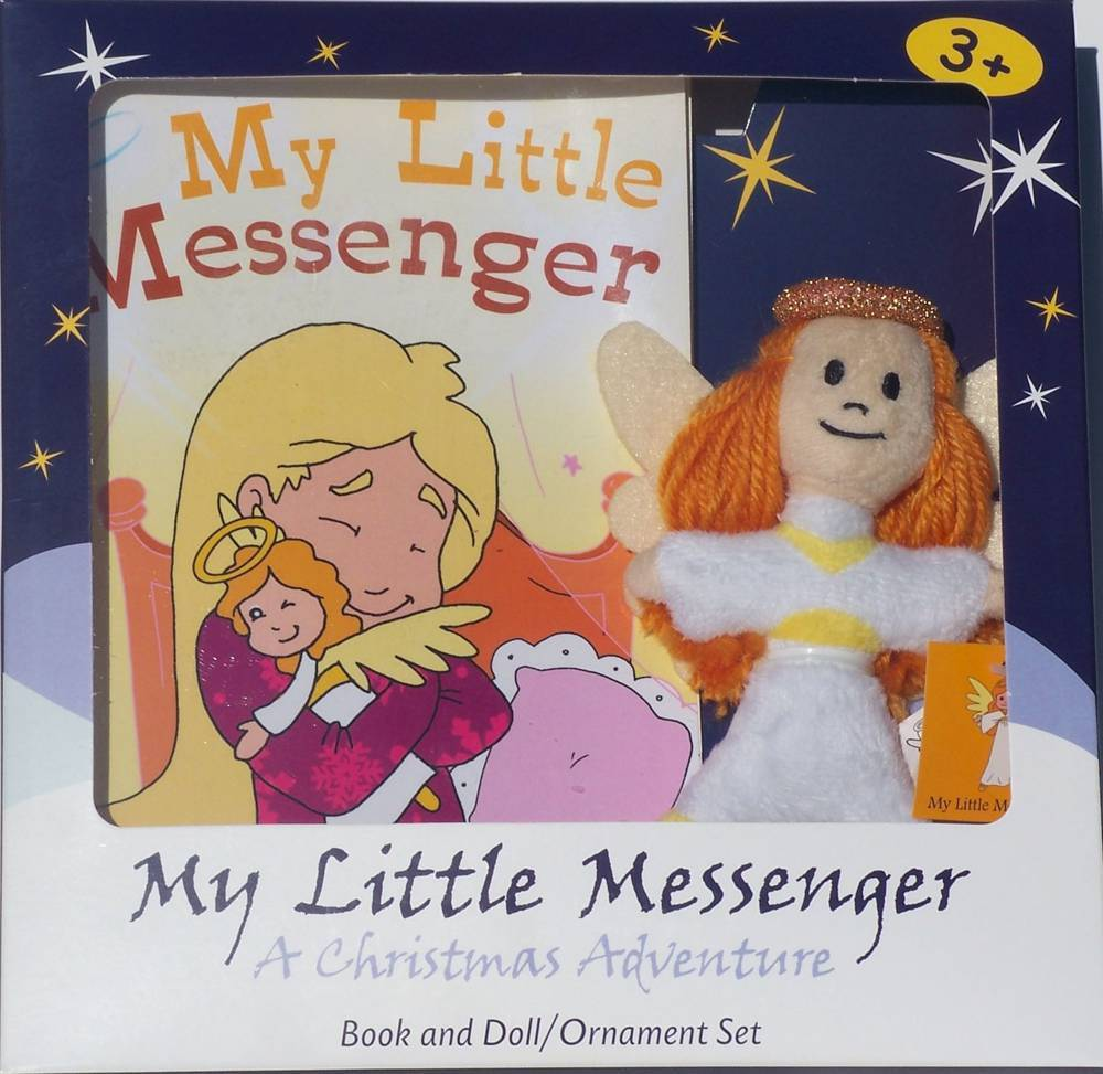 My Little Messenger christmas book, childrens book, christmas gift, seasonal gift, seasonal book, peek and find book, infant book,, puppet and book, seasonal book,0865638000002