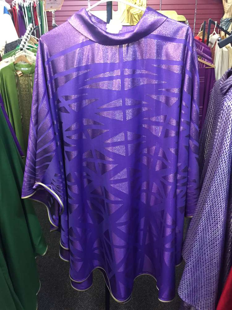Pietrobon Bruno Purple Woven Chasuble