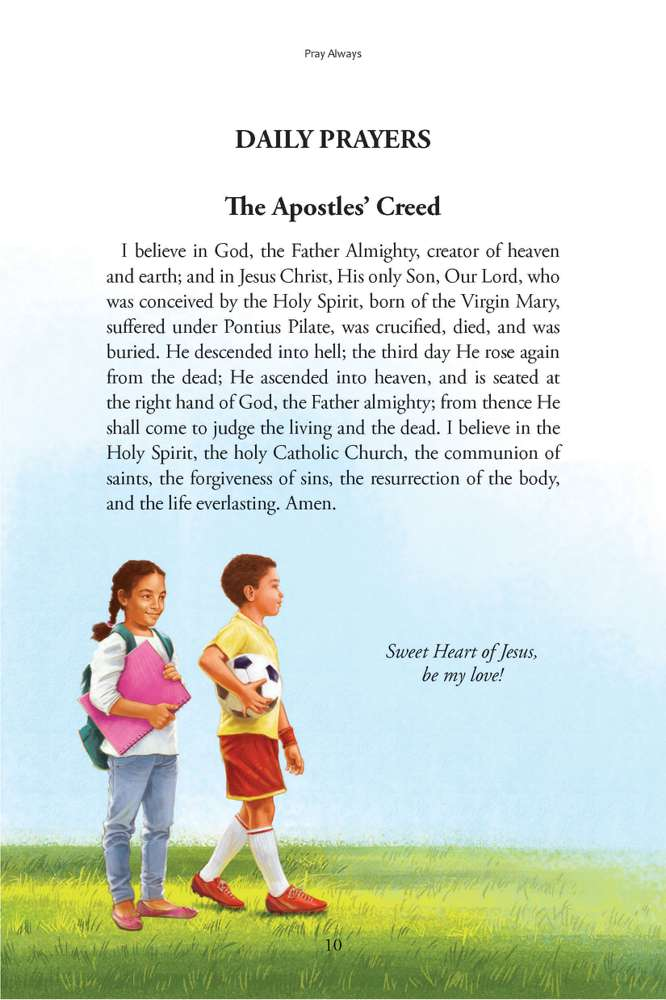 Pray Always A Catholic Child 39 s