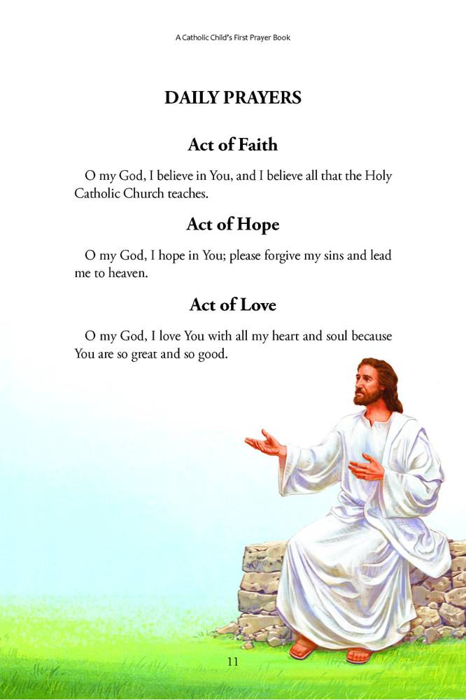 Pray Always A Catholic Child S First Prayer Book