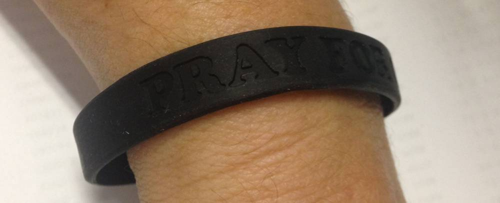 Pray For Our Priest Rubber Bracelet pope, priest, bracelet, gift,jewelry, rubber braclet, group gifts,