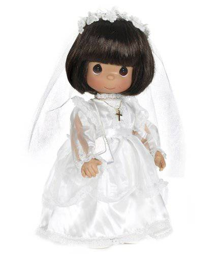 Precious Moments Brunette First Communion Doll first communion doll, communin doll, precious moments doll, precious moment doll, sacrament doll, keepsake doll