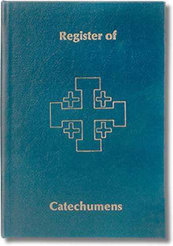 Register Of Catechumens church goods, register books, marriage, baptism, communion, confirmation,