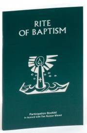 Rite of Baptism Booklet baptism, ritual editions, rite of baptism, children, church goods, sacramental book, 80/04