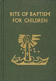 Rite of Baptism for Children baptism, ritual editions, rite of baptism, children, church goods, sacramental book, 136/22
